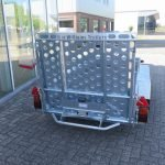 Ifor Williams machinetransporter 300x155cm 3500kg Aanhangwagens XXL West Brabant 2.0 achter dicht Aanhangwagens XXL West Brabant