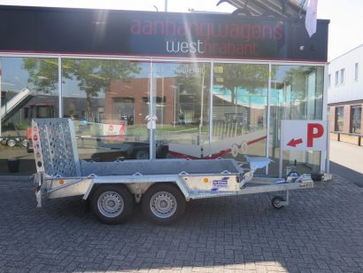 Ifor Williams machinetransporter 300x155cm 3500kg Aanhangwagens XXL West Brabant 2.0 hoofd