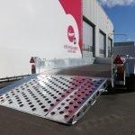Ifor Williams machinetransporter 304x162cm 3500kg Aanhangwagens XXL West Brabant 3.0 oprijklep Aanhangwagens XXL West Brabant