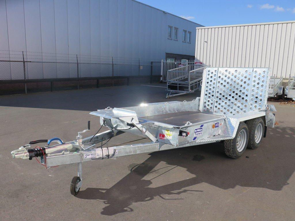 Ifor Williams machinetransporter 304x162cm 3500kg Aanhangwagens XXL West Brabant 3.0 overzicht Aanhangwagens XXL West Brabant