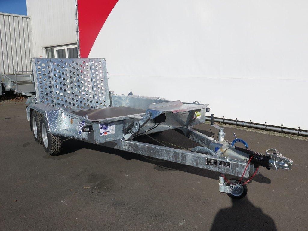 Ifor Williams machinetransporter 304x162cm 3500kg Aanhangwagens XXL West Brabant 3.0 voorkant Aanhangwagens XXL West Brabant
