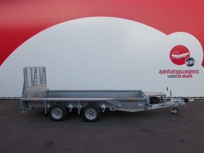 Ifor Williams machinetransporter 366x157cm 3500kg Aanhangwagens XXL West Brabant 4.0 hoofd