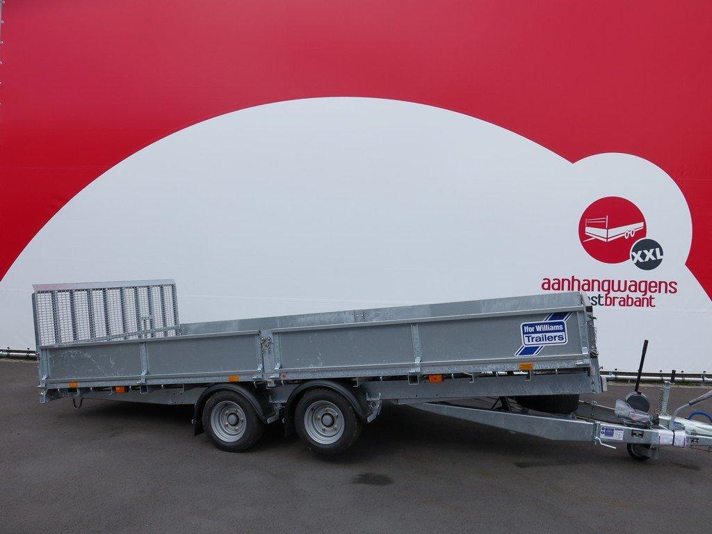 Ifor Williams machinetransporter 477x198cm 3500kg kantelbaar Aanhangwagens XXL West Brabant 2.0 hoofd Aanhangwagens XXL West Brabant