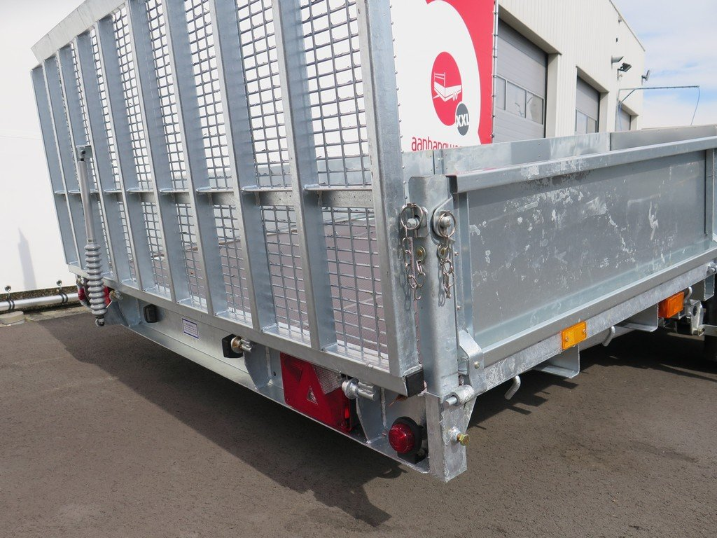 Ifor Williams machinetransporter 477x198cm 3500kg kantelbaar Aanhangwagens XXL West Brabant 2.0 oprijklep Aanhangwagens XXL West Brabant