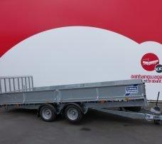 Ifor Williams machinetransporter 477x225cm 3500kg kantelbaar Aanhangwagens XXL West Brabant 2.0 hoofd Aanhangwagens XXL West Brabant