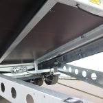 Ifor Williams machinetransporter 503x204cm 3500kg kantelbaar Aanhangwagens XXL West Brabant 2.0 gekantelde vloer Aanhangwagens XXL West Brabant