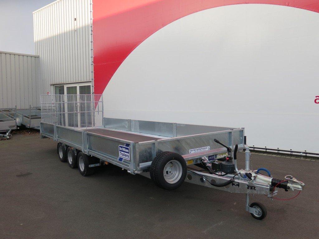 Ifor Williams machinetransporter 503x204cm 3500kg kantelbaar Aanhangwagens XXL West Brabant 2.0 voorkant Aanhangwagens XXL West Brabant