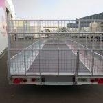 Ifor Williams machinetransporter 550x204cm 3500kg kantelbaar Aanhangwagens XXL West Brabant 3.0 achter dicht Aanhangwagens XXL West Brabant