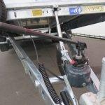 Ifor Williams machinetransporter 550x204cm 3500kg kantelbaar Aanhangwagens XXL West Brabant 3.0 handpomp Aanhangwagens XXL West Brabant