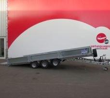 Ifor Williams machinetransporter 550x204cm 3500kg kantelbaar Aanhangwagens XXL West Brabant 3.0 hoofd Aanhangwagens XXL West Brabant