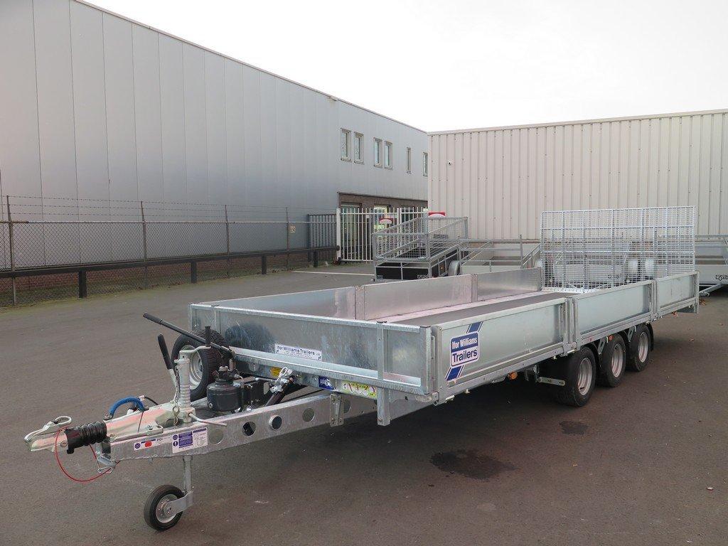 Ifor Williams machinetransporter 550x204cm 3500kg kantelbaar Aanhangwagens XXL West Brabant 3.0 overzicht Aanhangwagens XXL West Brabant