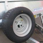 Ifor Williams machinetransporter 550x204cm 3500kg kantelbaar Aanhangwagens XXL West Brabant 3.0 reservewiel Aanhangwagens XXL West Brabant