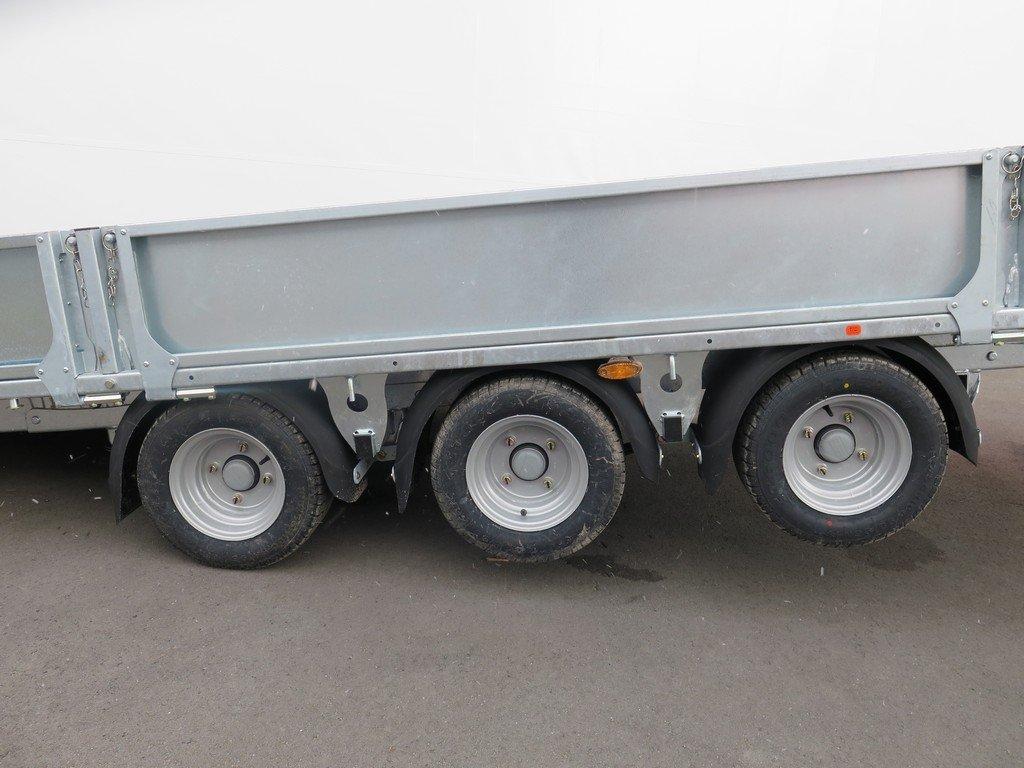 Ifor Williams machinetransporter 550x204cm 3500kg kantelbaar Aanhangwagens XXL West Brabant 3.0 tridemas Aanhangwagens XXL West Brabant