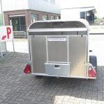 Ifor Williams veetrailer 221x121x112cm Aanhangwagens XXL West Brabant 2.0 achter dicht Aanhangwagens XXL West Brabant