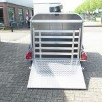 Ifor Williams veetrailer 221x121x112cm Aanhangwagens XXL West Brabant 2.0 achter open