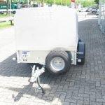 Ifor Williams veetrailer 221x121x112cm Aanhangwagens XXL West Brabant 2.0 voorkant Aanhangwagens XXL West Brabant
