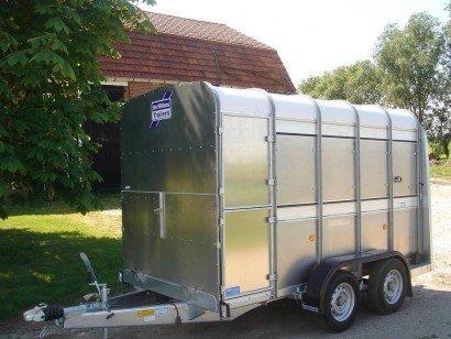 Ifor Williams veetrailer 304x156x183cm veetrailers Aanhangwagens XXL West Brabant hoofd