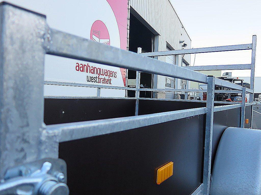 Loady enkelas aanhanger 222x130cm 750kg