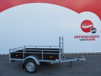 Loady enkelas aanhanger 222x130cm 750kg Aanhangwagens XXL West Brabant 2.0 hoofd