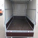 Loady huifaanhanger 254x129x150cm 750kg Aanhangwagens XXL West Brabant 5.0 achterbord open