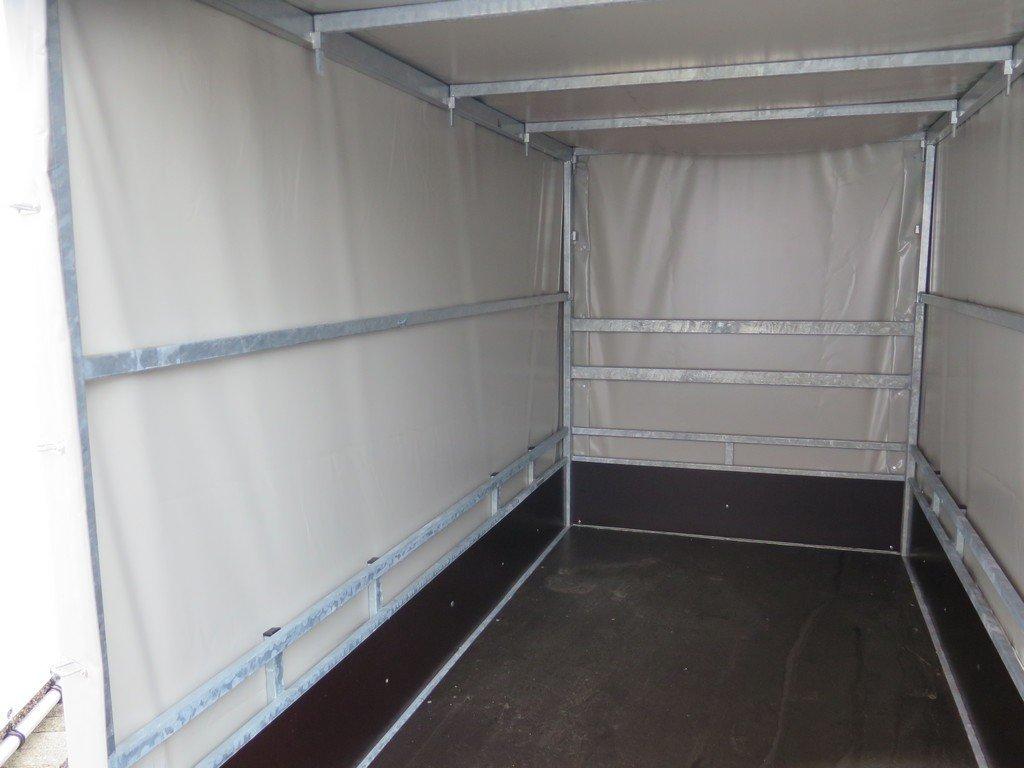 Loady huifaanhanger 254x129x150cm 750kg Aanhangwagens XXL West Brabant 5.0 binnenkant