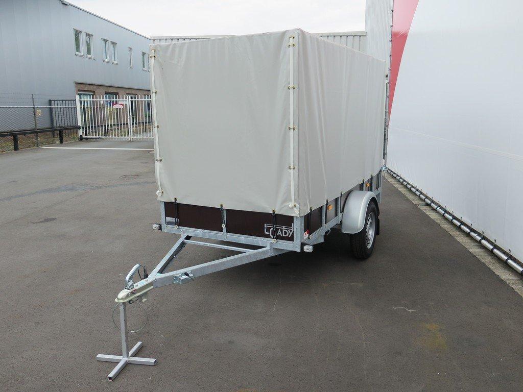 Loady huifaanhanger 254x129x150cm 750kg Aanhangwagens XXL West Brabant 5.0 overzicht