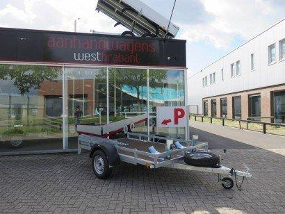 Loady motortrailer 257x157cm Motortrailers Aanhangwagens XXL West Brabant hoofd