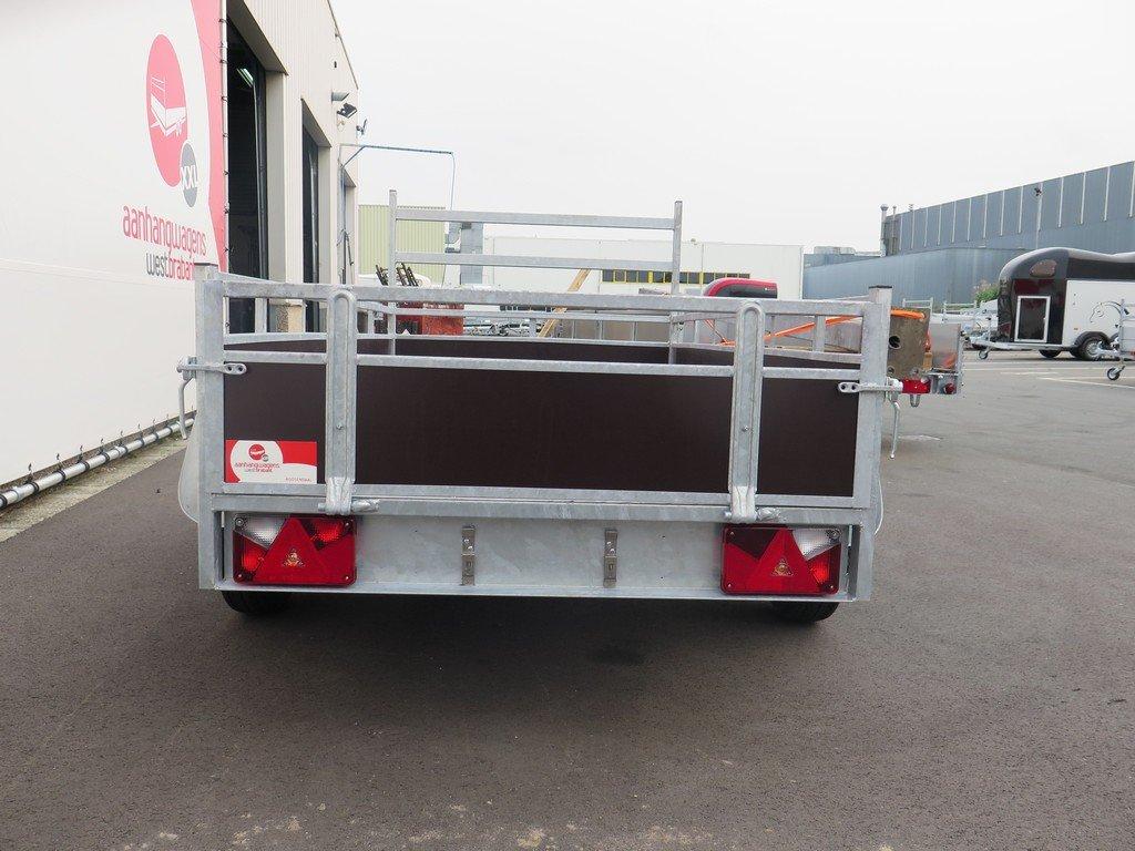 Loady tandemas aanhanger 254x130cm 750kg Aanhangwagens XXL West Brabant 2.0 achter dicht