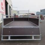 Loady tandemas aanhanger 254x130cm 750kg Aanhangwagens XXL West Brabant 2.0 achter open