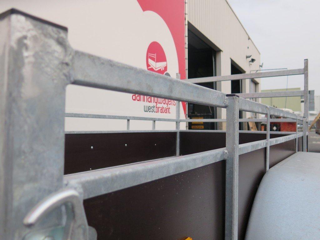 Loady tandemas aanhanger 254x130cm 750kg Aanhangwagens XXL West Brabant 2.0 bindreling
