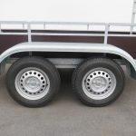 Loady tandemas aanhanger 254x130cm 750kg Aanhangwagens XXL West Brabant 2.0 dubbele as