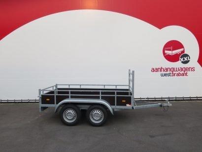 Loady tandemas aanhanger 254x130cm 750kg Aanhangwagens XXL West Brabant 2.0 hoofd