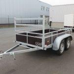 Loady tandemas aanhanger 254x130cm 750kg Aanhangwagens XXL West Brabant 2.0 overzicht