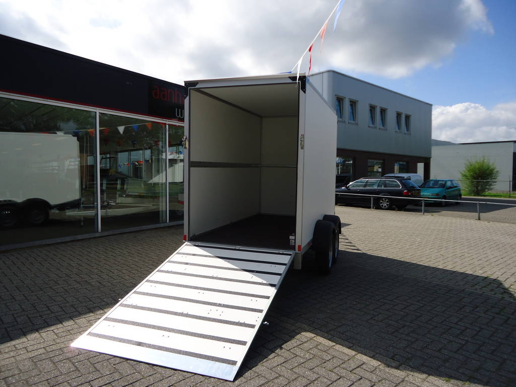 Proline bloemenwagen 304x151x200cm bloemenwagens Aanhangwagens XXL West Brabant geopend Aanhangwagens XXL West Brabant