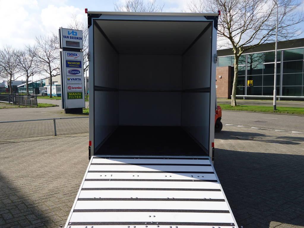 Proline bloemenwagen 407x181x200cm bloemenwagens Aanhangwagens XXL West Brabant achterkant geopend