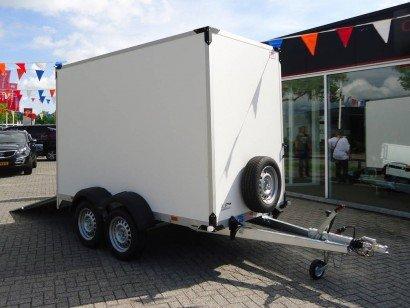 Proline gesloten 304x151x200cm 2500kg gesloten aanhangwagens Aanhangwagens XXL West Brabant hoofd