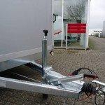Proline gesloten 401x201x200cm 2500kg gesloten aanhangwagens Aanhangwagens XXL West Brabant dissel