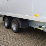 Proline gesloten 401x201x200cm 2500kg gesloten aanhangwagens Aanhangwagens XXL West Brabant dubbele as
