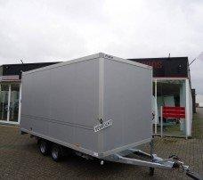 Proline gesloten 401x201x200cm 2500kg gesloten aanhangwagens Aanhangwagens XXL West Brabant hoofd