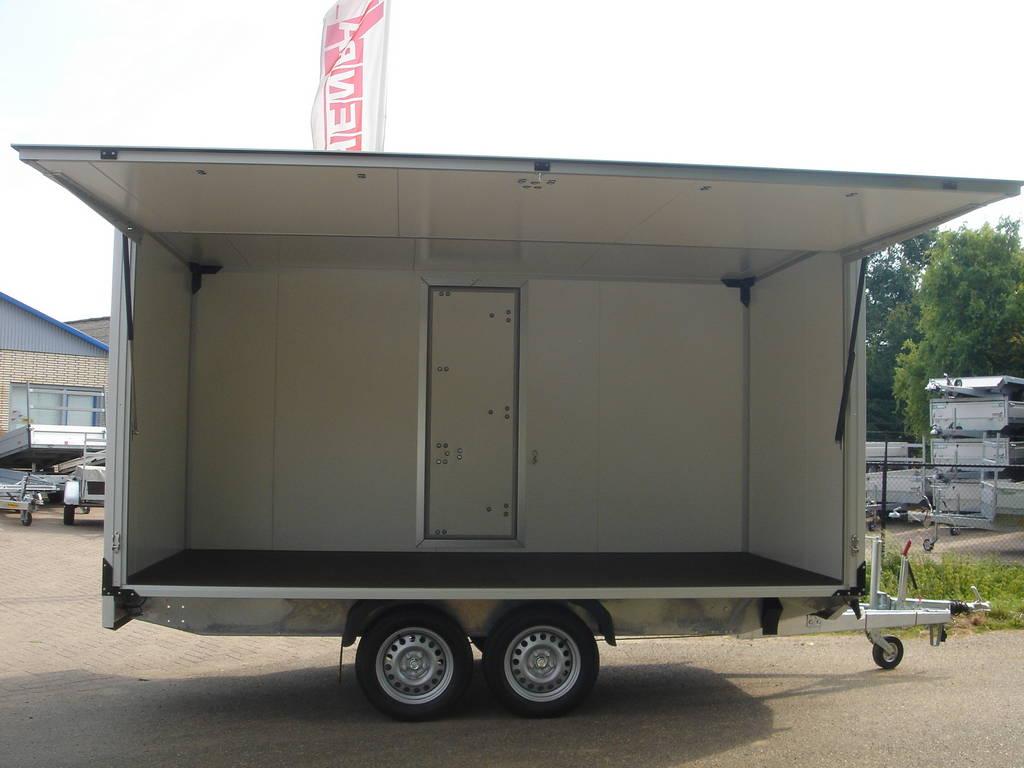 Proline gesloten 401x201x200cm 2500kg gesloten aanhangwagens Aanhangwagens XXL West Brabant speciaalbouw