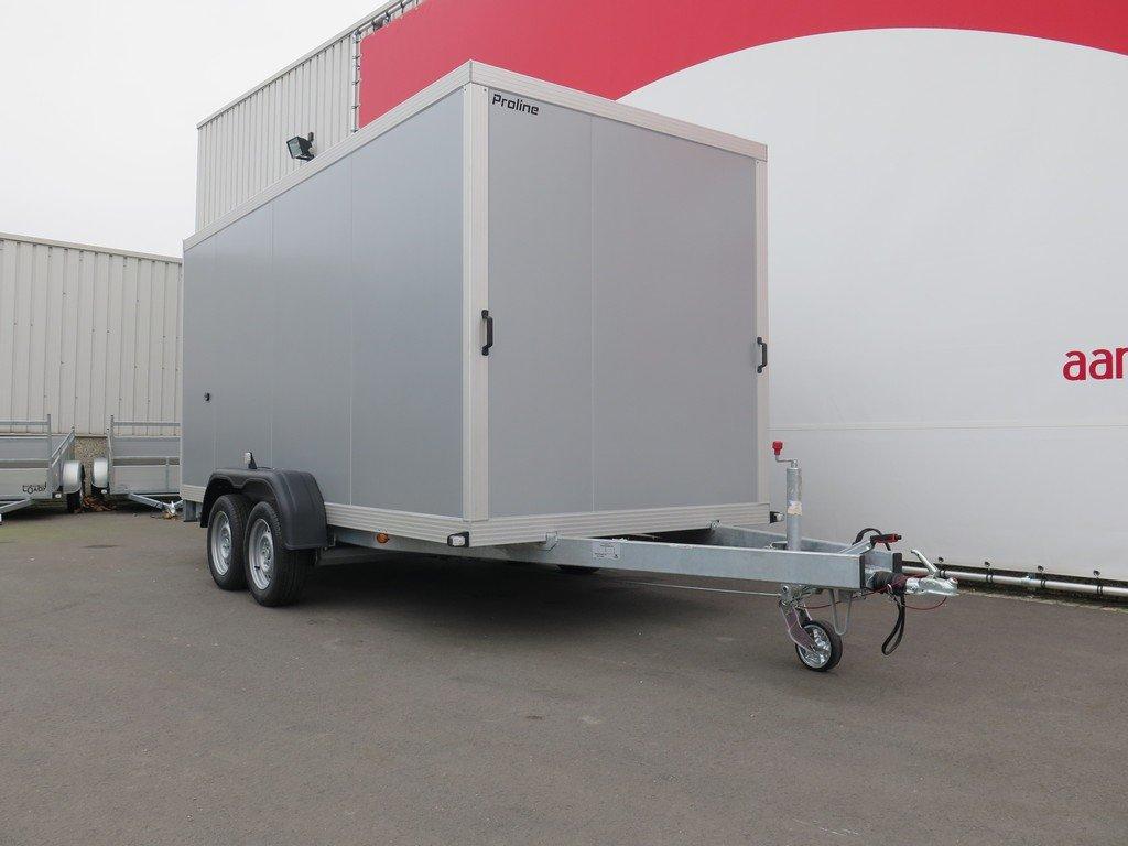 Proline gesloten aanhanger 425x175x190cm 2600kg Aanhangwagens XXL West Brabant zijkant