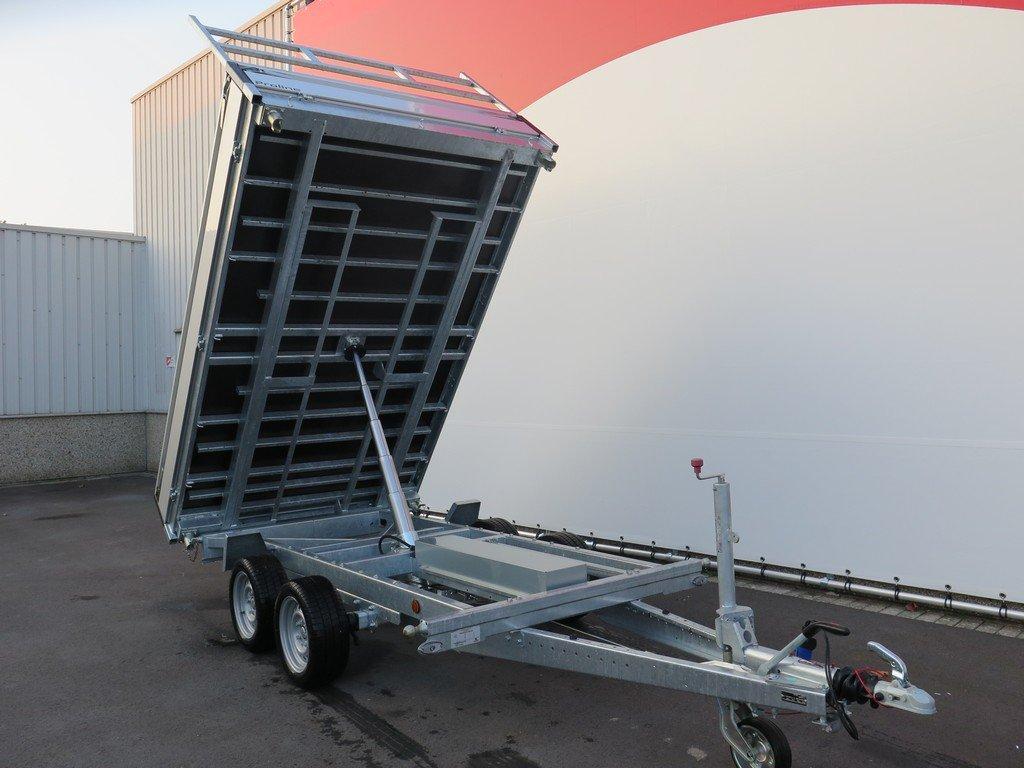 Proline kipper 301x185cm 2700kg Aanhangwagens XXL West Brabant 2.0 voorkant Aanhangwagens XXL West Brabant