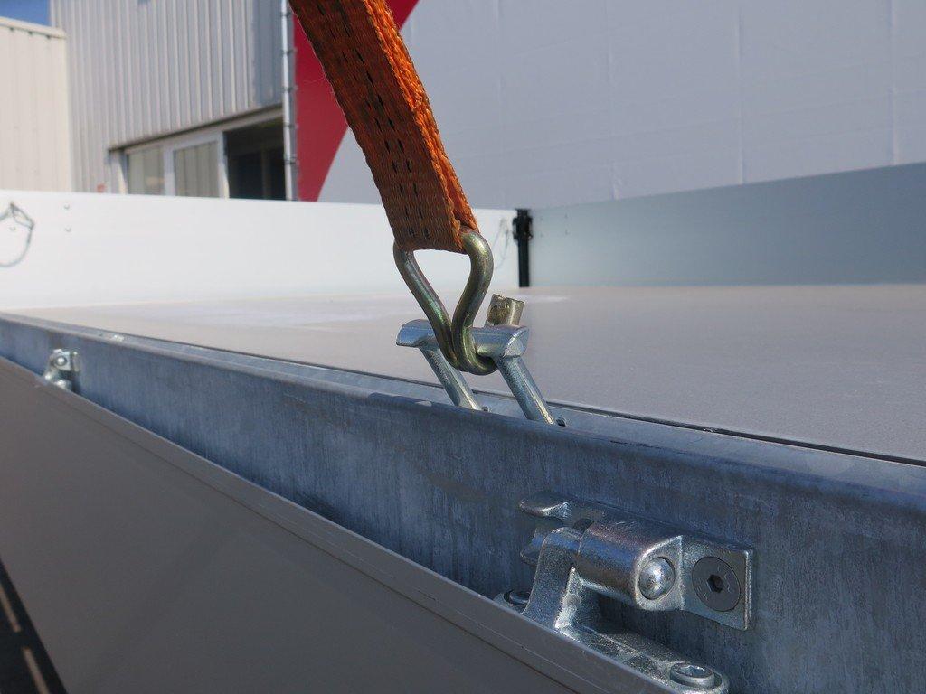 Proline kipper 331x185cm 2700kg Aanhangwagens XXL West Brabant touwhaken Aanhangwagens XXL West Brabant