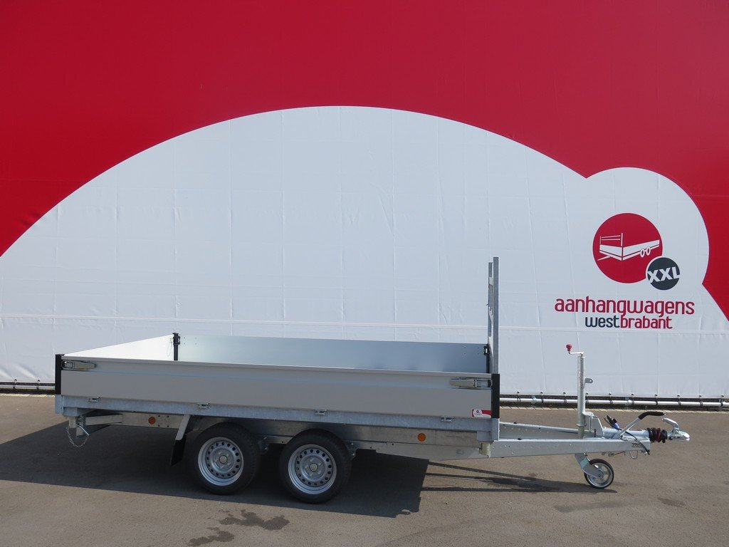Proline kipper 331x185cm 2700kg Aanhangwagens XXL West Brabant zijkant Aanhangwagens XXL West Brabant
