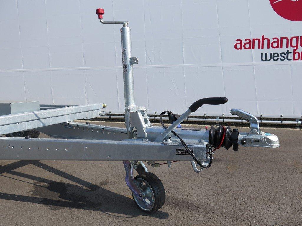 Proline kipper 331x185cm 2700kg Aanhangwagens XXL West Brabant zwaar neuswiel Aanhangwagens XXL West Brabant