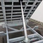 Proline kipper 351x185cm 3500kg Aanhangwagens XXL West Brabant 3.0 cilinder