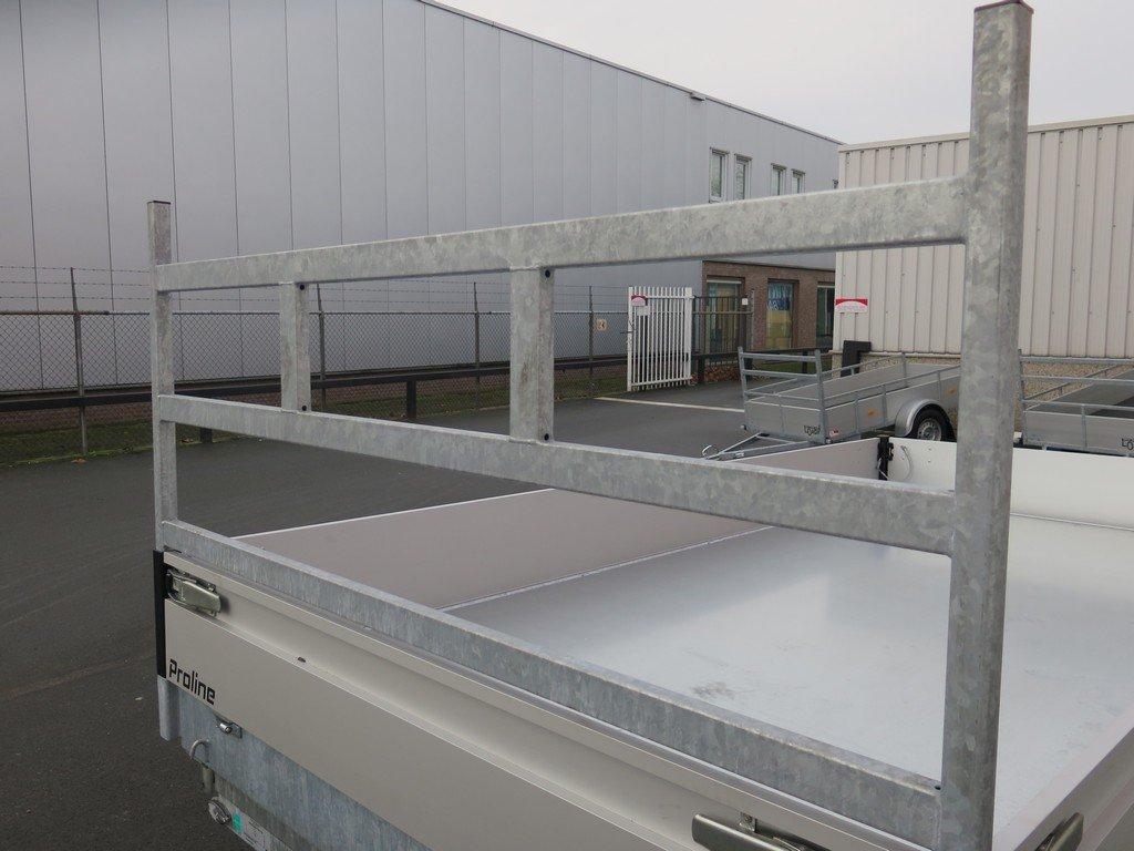 Proline kipper 351x185cm 3500kg Aanhangwagens XXL West Brabant 3.0 koprek Aanhangwagens XXL West Brabant