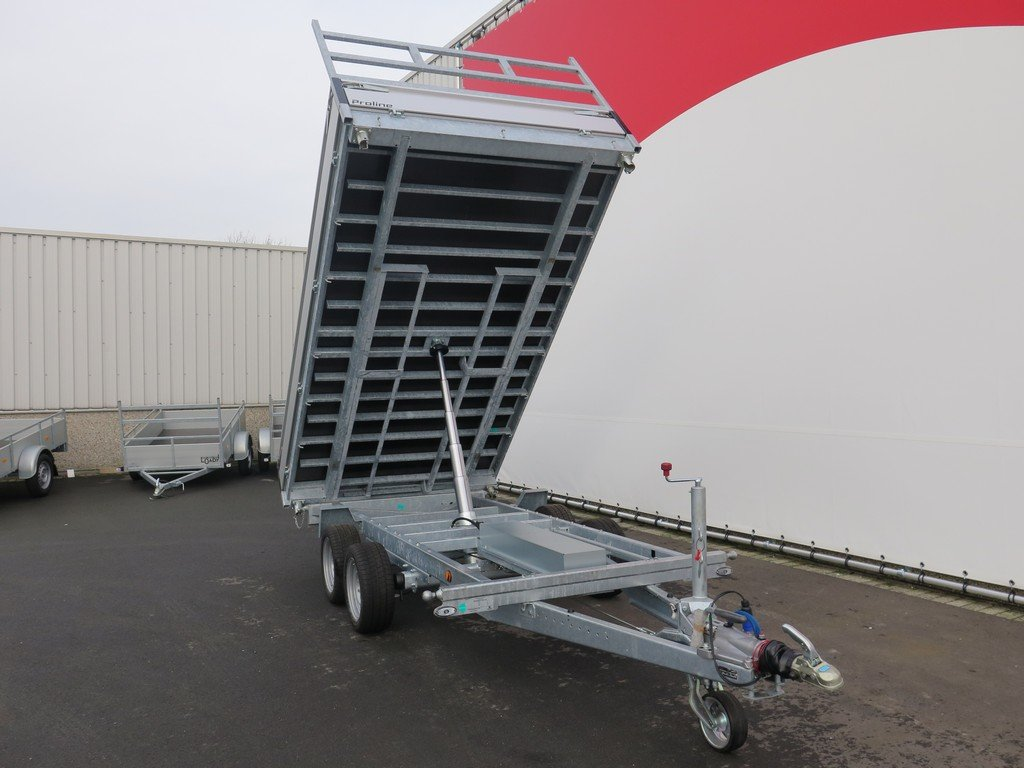 Proline kipper 351x185cm 3500kg Aanhangwagens XXL West Brabant 3.0 voorkant