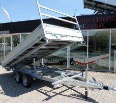 Proline kipper 401x202cm 3500kg 2-as kippers Aanhangwagens XXL West Brabant hoofd