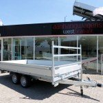 Proline kipper 401x202cm 3500kg 2-as kippers Aanhangwagens XXL West Brabant overzicht